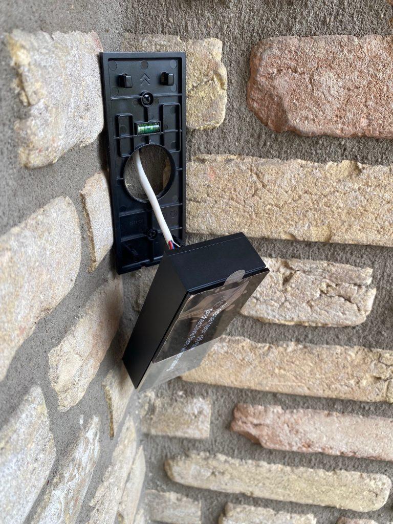 Foscam V1 Videodeurbel installatie-4