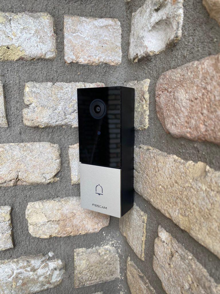 Foscam V1 Videodeurbel installatie-5